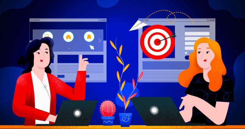 Le differenze tra landing page e sito web descritte da Welcome Digital